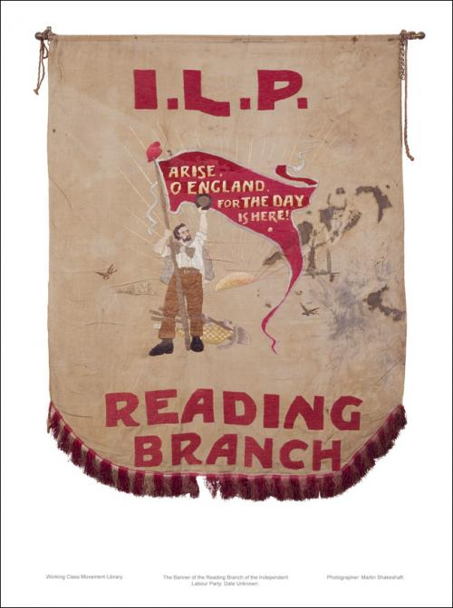 Poster of the the Reading Branch of the ILP.